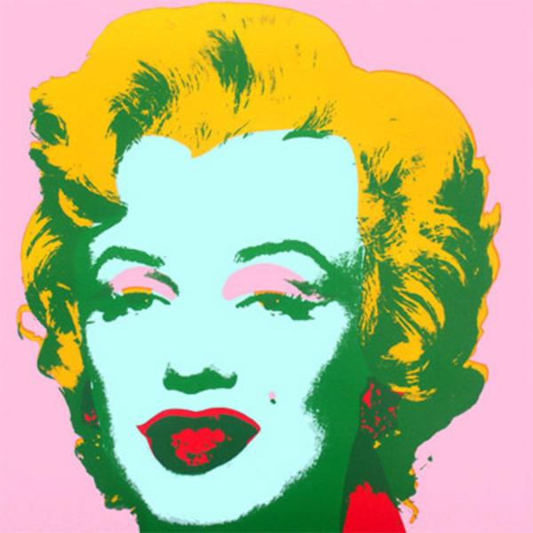 Marilyn X by Andy Warhol