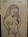 desnudo femenino by Pablo Picasso