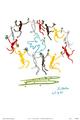 La Ronde by Pablo Picasso