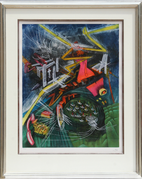 Pyrocentre by Roberto Matta