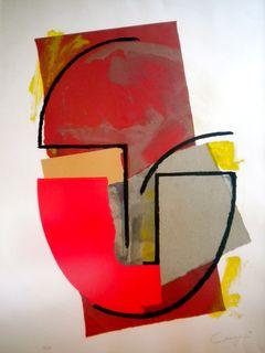 UNTITLED by Rafael Canogar