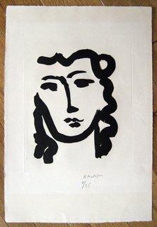 Masque Melancolique by Henri Matisse