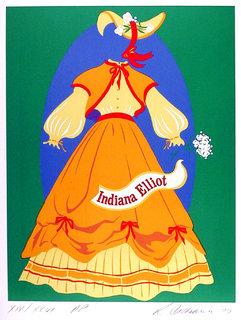 Indiana Elliot by Robert Indiana