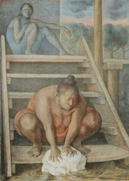 La Escalera by Francisco Zuñiga