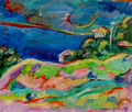 Ocean in sunny day by Inga Erina