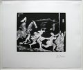 Cap et Epee: Poursuite I by Pablo Picasso