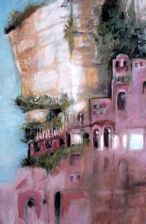 Positano cliff by Alex Mackenzie