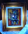 Unpublished original Picasso Tempera painting by Pablo Picasso