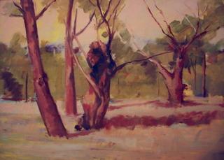 oaks 1 by Antonio Abad