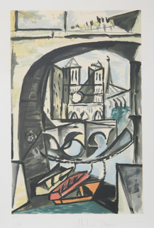 Nôtre Dame by Picasso Estate Collection