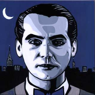 Poet in New York (Federico García Lorca III) by Menchu Gamero