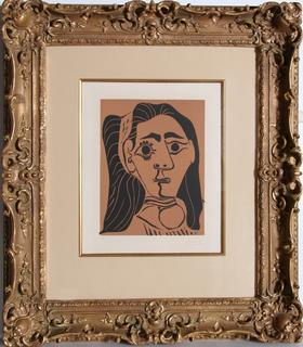 Jacqueline au Bandeau by Pablo Picasso
