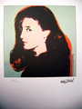 Portrait of Marilynn Karp by Andy Warhol
