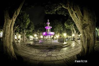 Adelantado Square (marble fountain) by Atman Victor