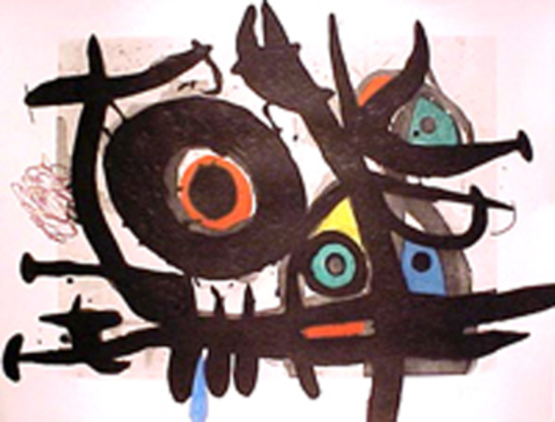 Oiseau Destructeur by Joan Miró