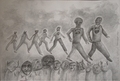 The march of the Influenza by Ricardo Hirschfeldt