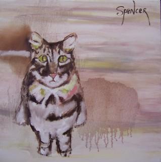 Standing Cat by Scott Andrew Spencer