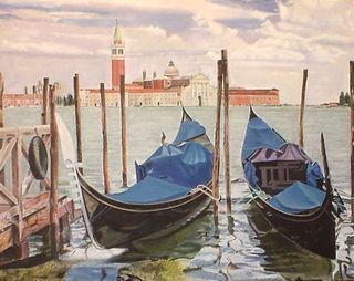 The Venetian Gondola by Gustavo López-Cobo