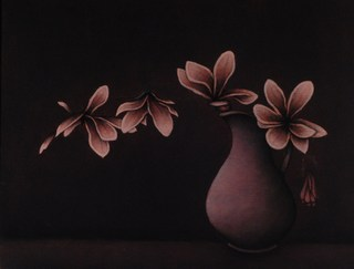 Still Life with Magnolias by Carolyn Adams