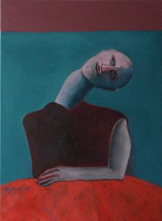 Man waiting by Ricardo Hirschfeldt