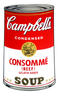 Campbell's Soup - Consommé by Andy Warhol