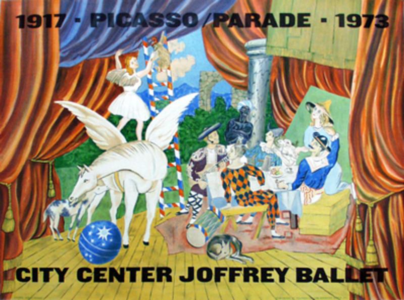 Parade Original Art By City Center Joffrey Ballet
