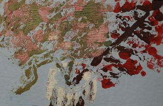 Hydrangea in winter by Mania Row