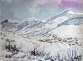 Nieve en Polaciones by Bienvenido Garcia Arozamena