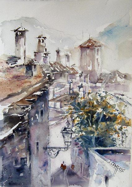 Apujaras-Capileira (Granada) by Juan Félix Campos