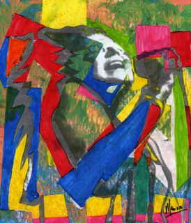 Janis Joplin by Marco Mark