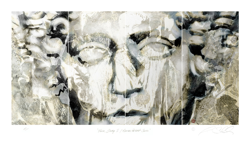Fivia, third stage / Roman Portrait Series by Alexander Sutulov