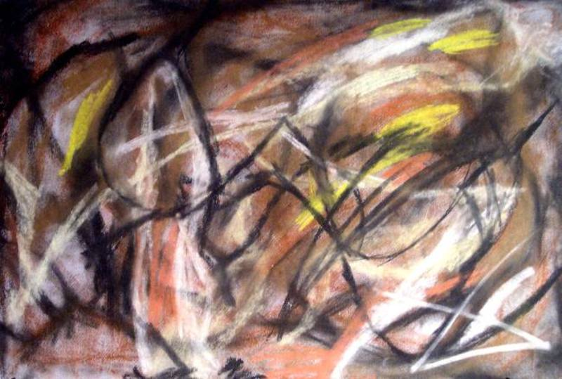Abstract Painting OF-A300 by Oleg Frolov