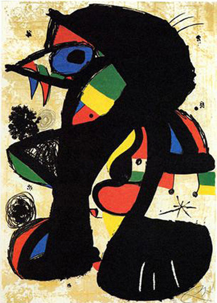 Incisiva by Joan Miró