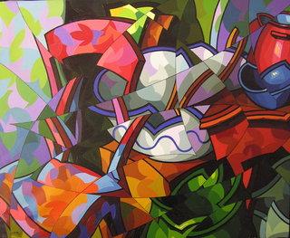 Composicion con objetos diversos by José Sanz Sala