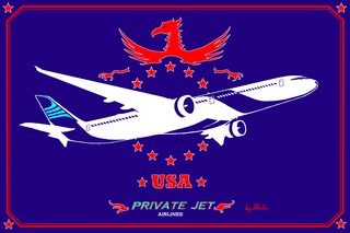 Flag big (Private Jet) Airlines by PACHI