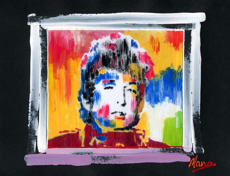 Bob Dylan - Aquarium by Marco Mark