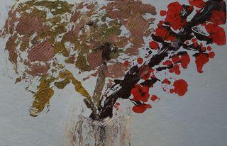 hydrangeas in winter 2 by Mania Row