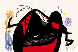 Aieule des 1000 ages by Joan Miró