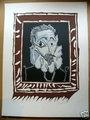 L'Homme a la Fraise by after Pablo Picasso