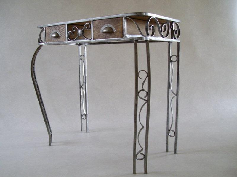 Wrought Iron Desk By Alain SEGURA