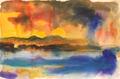 Isle of Mull Sunset by Chris Hankey