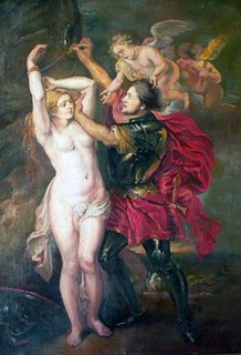 """Study on """"Perseus and Andromeda"""" by Pedro Roque Hidalgo"""