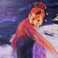 Falmenco dancer 21 by Sylva Zalmanson