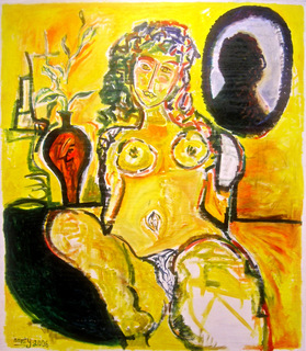 Yellow Nude by Eric Henty
