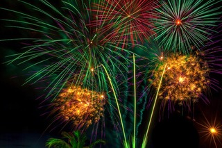 fireworks by Atman Victor