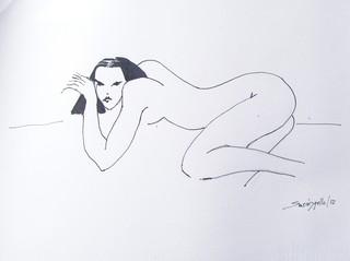 NUDE ORIENTE by Raquel Sarangello