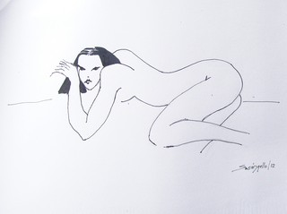 NUDE ORIENTE by Raquel Sara Sarangello