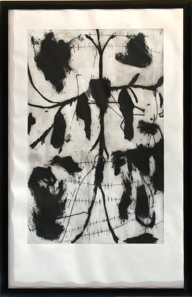Vespero Triptych 1 Original Art By Mimmo Paladino