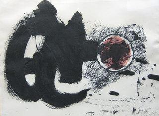 'Cercle II' by Antoni Tàpies
