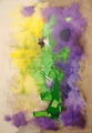 violet-green-yellow chatting by Jorge Labarca